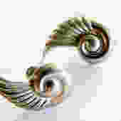 Art Deco Silver Earrings by LegendaryBeast