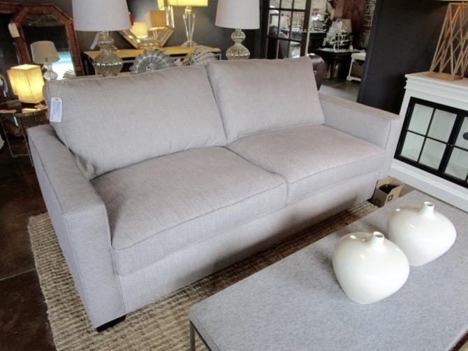 "NEW MITCHELL GOLD "" BERIN"" WIDE ARM QUEEN SLEEPER SOFA"