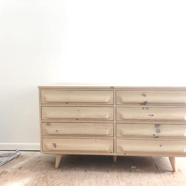 Vintage updated bleached pine Franklin Shockey dresser-ask for shipping quote by emandwitdesign