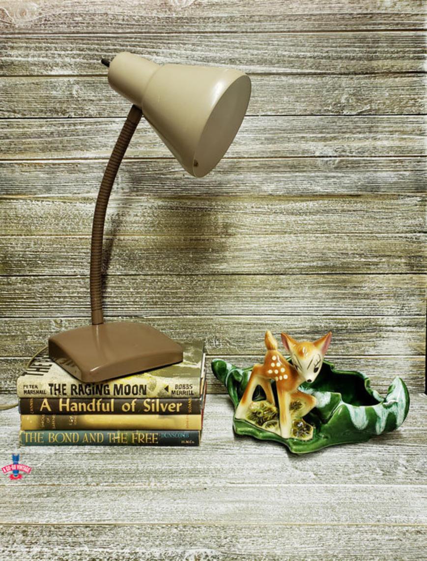Vintage Desk Lamp Industrial Gooseneck Desk Lamp Mid