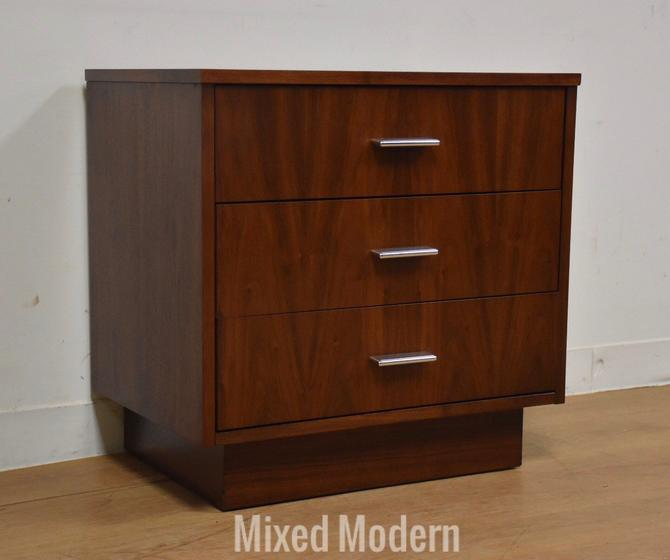 Dixie Walnut Modern Nightstand by mixedmodern1