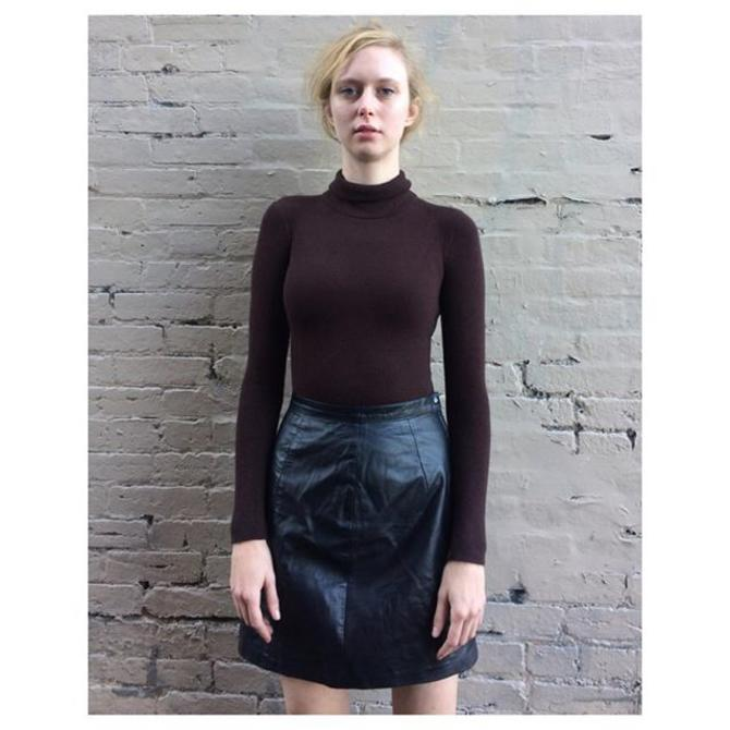 Fall essentials 1980s leather skirt + 1960s Danskin new old stock turtleneck bodysuit sz L worn by Betsy +much more black leather picks We are open til 8 today!#meepsdc #vintagebodysuit #blackleather #leatherskirt #dmv #dcccool #vintagedc #betsy