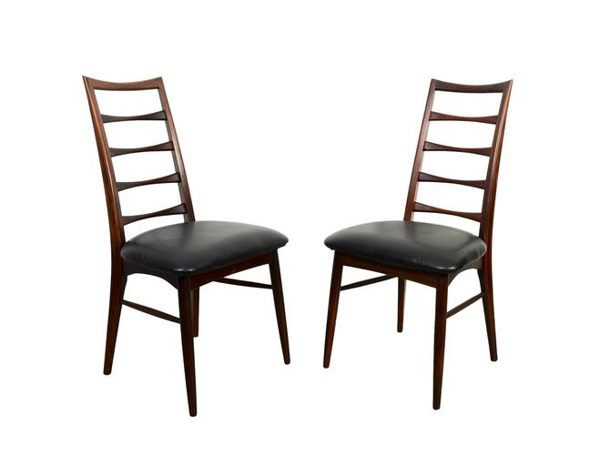 "Rosewood ""Lis"" Dining Chairs by Niels Koefoed for Koefoed Hornslet Danish Modern by HearthsideHome"