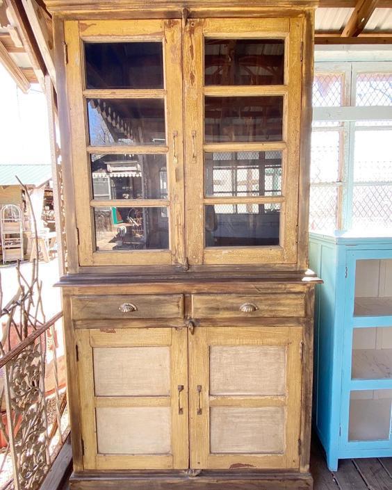 Farmhouse Teak Cabinet
