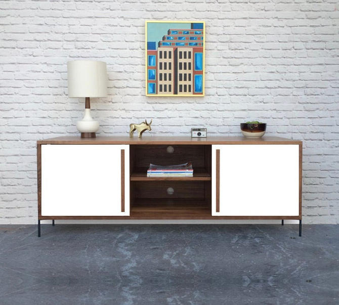 Kasse Credenza / TV Stand - Solid Cherry - Custom for Lizzie by STORnewyork