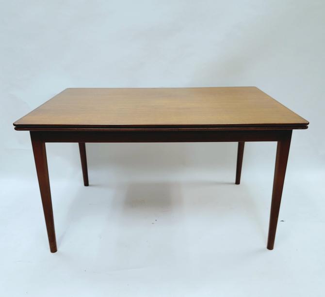 Danish Teak Expandable Dining Table by Illum Bolighus