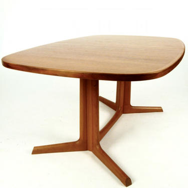 Large Oval Teak Dining Table by Niels O. Moller for Gudme