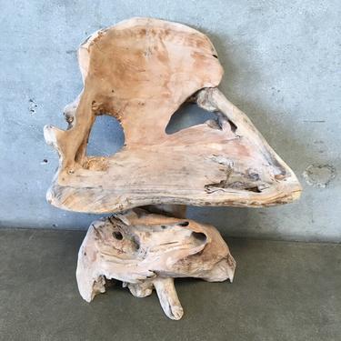 Rustic Teak Root Chair
