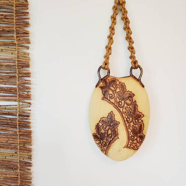 Native American Studio Pottery Wall Pocket | Hanging Vase by pennyportland