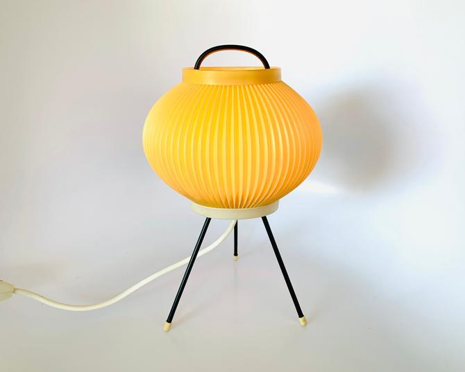 50s Cocoon Tripod Table Lamp Table by dadacat
