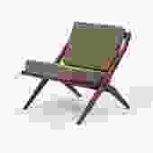 "Folke Ohlsson for DUX ""Scissor"" Lounge Chair"