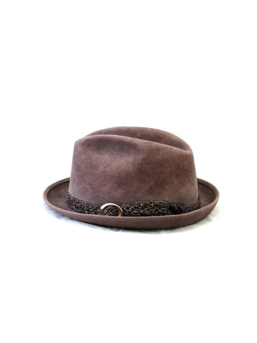 7e3ee141c40c0 Vintage Stetson Playboy Fedora - Hat - Light Brown - Felt - Wool Band -  Karolls