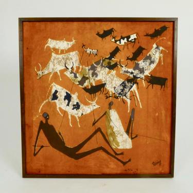 Batik On Silk By Robin Anderson