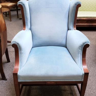 Item #DMC813 Early 20th Century Walnut Framed Accent Chair c.1910