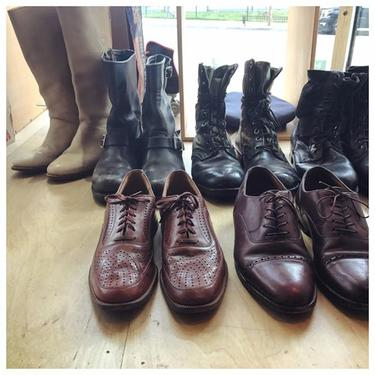 New in #vintage men's footwear  #brogues #moto #boots n more!! Call us for phone orders@202-265-6546 #shoesshoesshoes #shoes #admo #dc #leathergoods #autumn #menswear