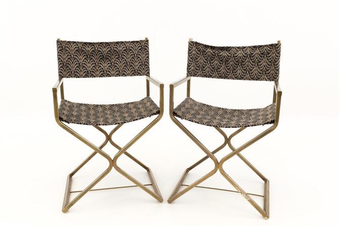 Robert Kjer Jakobsen Mid Century Modern Vintage Directors Chairs - mcm by ModernHill