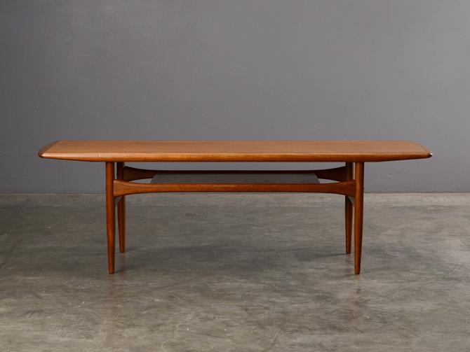 5ft Mid-Century Coffee Table Danish Modern Teak by MadsenModern