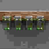 Reclaimed Wood Mason Jar Organizer by EvansWoodshopDesign