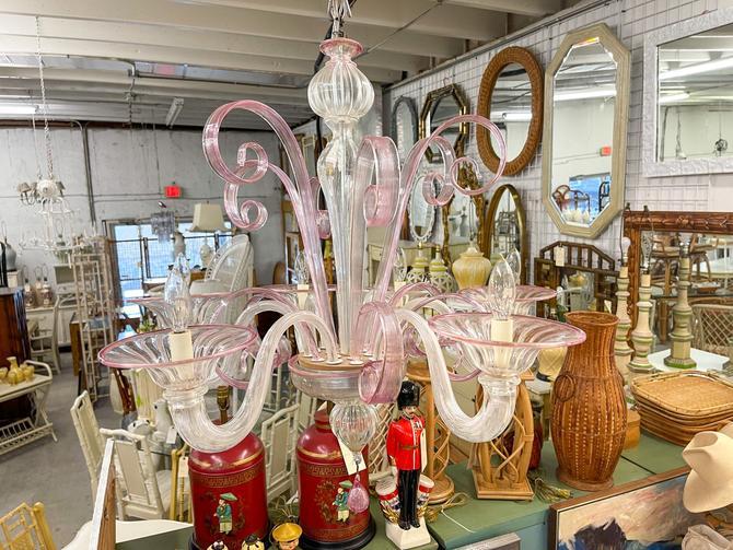 Pretty in Pink Murano Glass