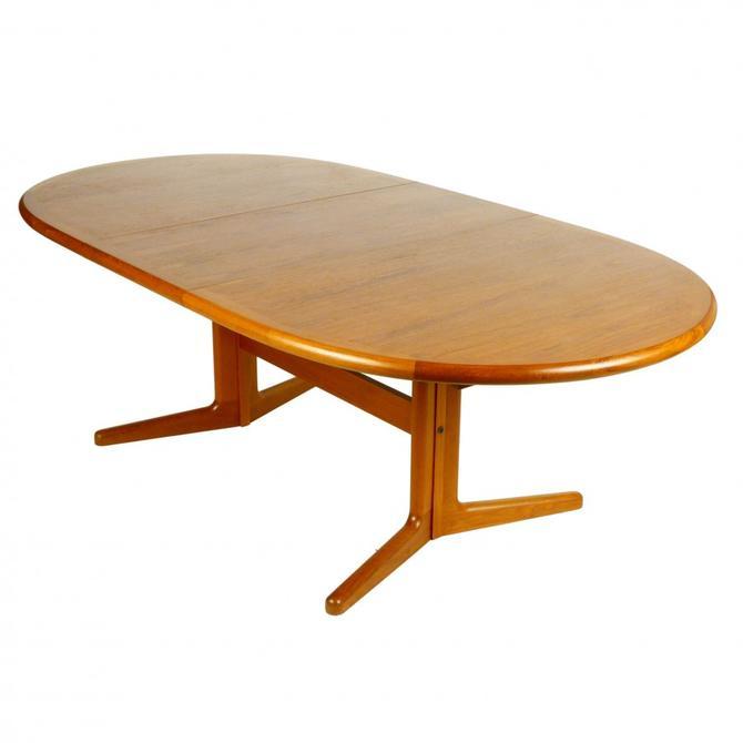 Teak Trestle Dining Table