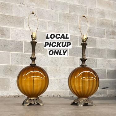 LOCAL PICKUP ONLY ————— Vintage Table Lamp ------- Sold Separately by RetrospectVintage215