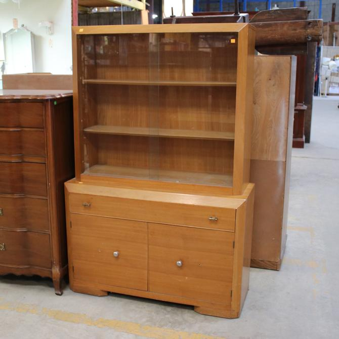 Vintage Mid-Century Modern China Cabinet