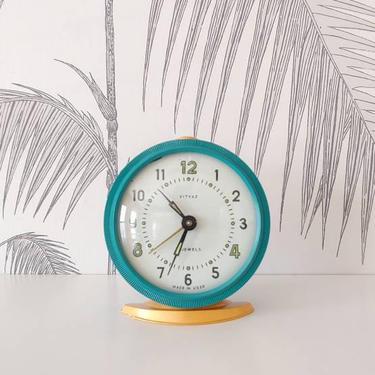 Vintage Alarm Clock, Working Condition, Vityaz, made in Russia, circa 50's by colortheoryBoston