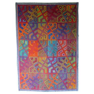 Niels Nedergaard 'Infinity' for Ege Axminster Rug or Wall Tapestry, 1984