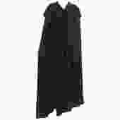 Vintage Yves Saint Laurent Black Wool Cape 1970s