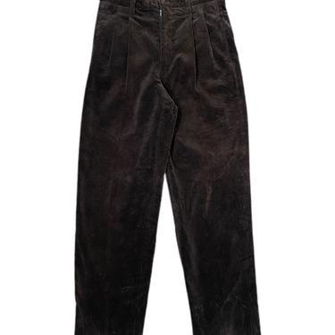 "(29"") Brown Corduroy Pants 061521 LM"