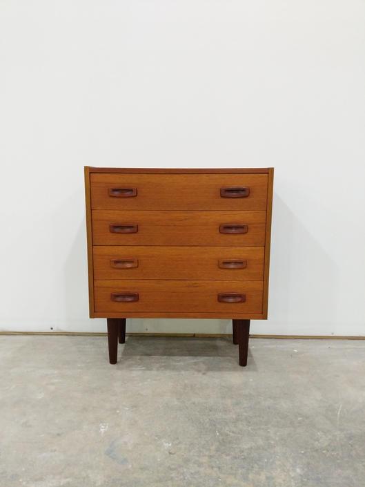 Vintage Danish Modern Teak Low Dresser by FarOutFindsNYC