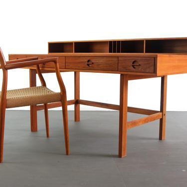 24 HOUR HOLD - Vintage Danish Teak Desk by Jens Quistgaard for Lovig Dansk, 1960s by ABTModern