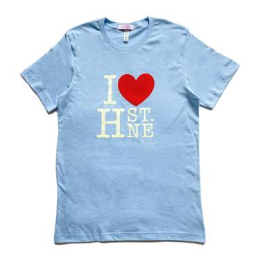 I ❤️ H ST NE - Large Print Graphic Tee (Baby Blue)