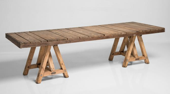 Pine Trestle Table