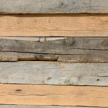 Hand Hewn Barn Beam | Reclaimed Wood Beam | Barn Beam Mantel | Barn Beam Bench | Reclaimed Shelf Rustic Barnwood | Old Growth Wood by PiccadillyPrairie