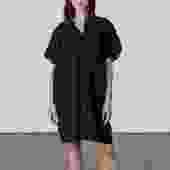 Oversized V Dress