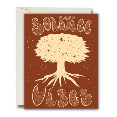 Solstice Vibes Card