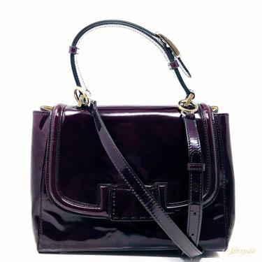 Fendi Purple Patent Purse