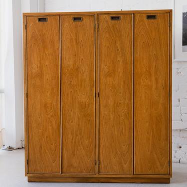 Pecan Armoire Cabinet