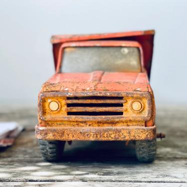 Orange Steel Tonka Dump Truck | Vintage Dump Truck | Vintage Kids Toy | Antique Tonka Toys | Industrial Vintage by PiccadillyPrairie