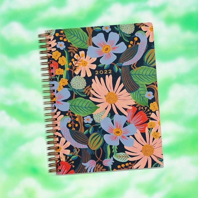 2022 12-Month Softcover Spiral Planner