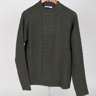 Fisherman Sweater - Forest