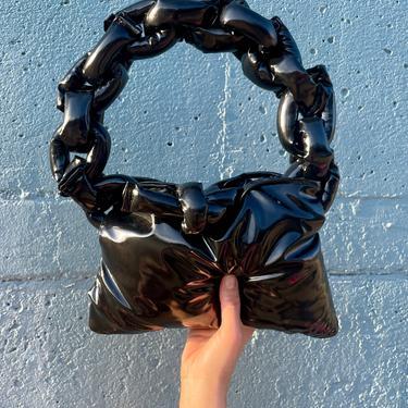 Offbeat Sweet Black Soft Chain Bag