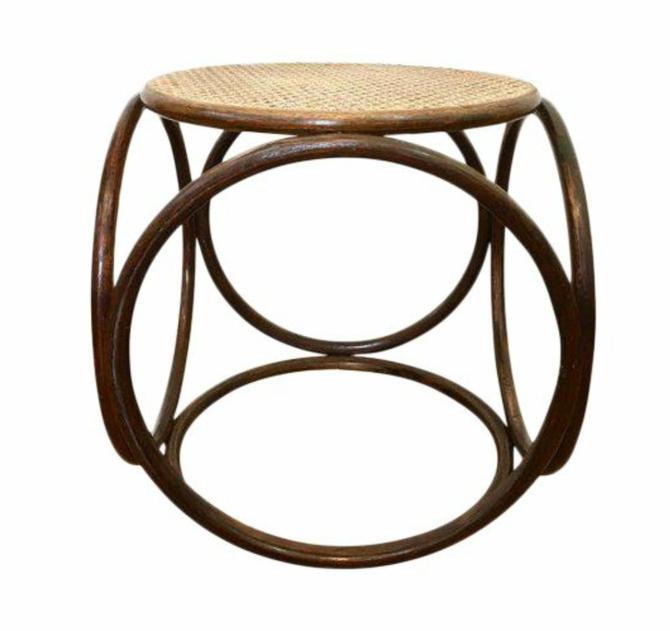 Thonet Style Ottoman Footstool