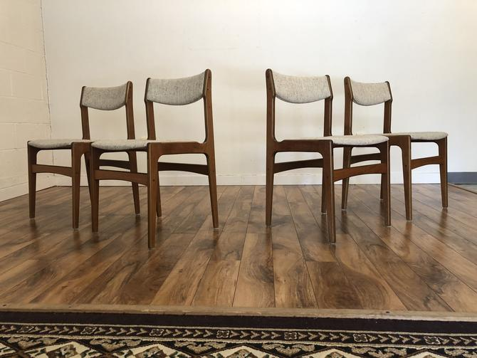 Farstrup Danish Teak Dining Chairs, Set of 4