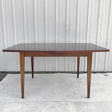 Mid-Century Modern Dining Table With Three Leaves by secondhandstory