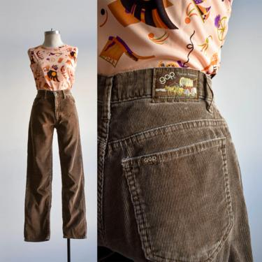 Vintage Brown Gap Corduroys by milkandice