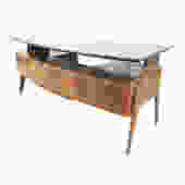 Large Executive Desk by Dassi, Italy, 1960s