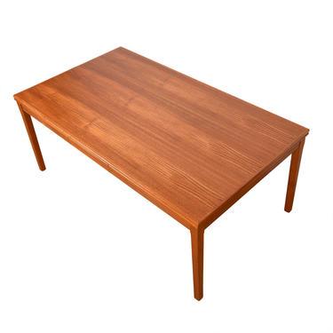 Danish Modern Teak Colossal Expanding Dining Table