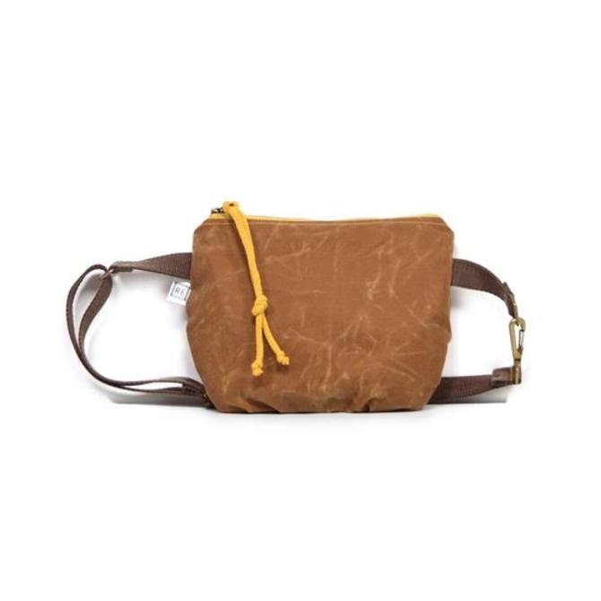 Festival Pack in Pecan Waxed Canvas